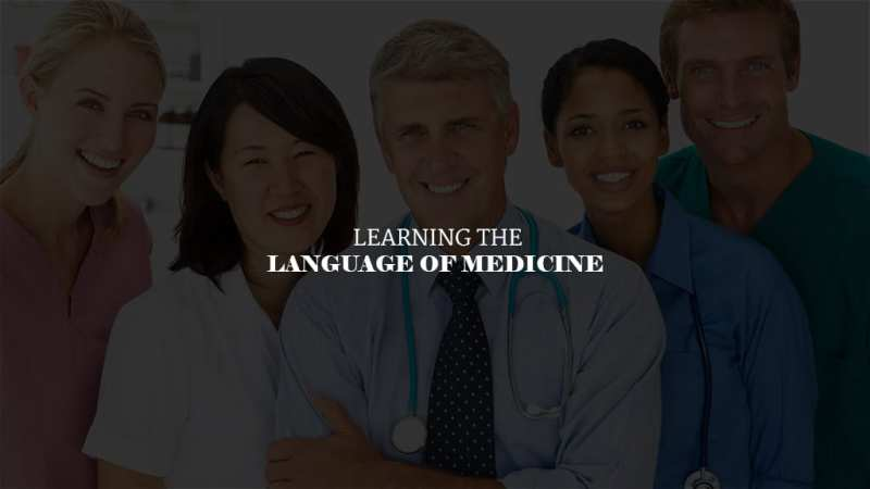 Learning The Language of Medicine