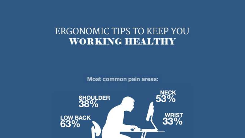 Ergonomic Tips To Keep You Working Healthy