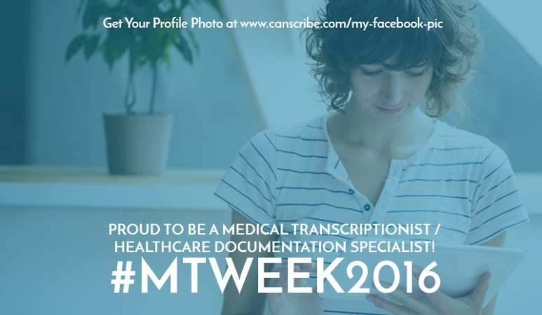What is Medical Transcription Week?