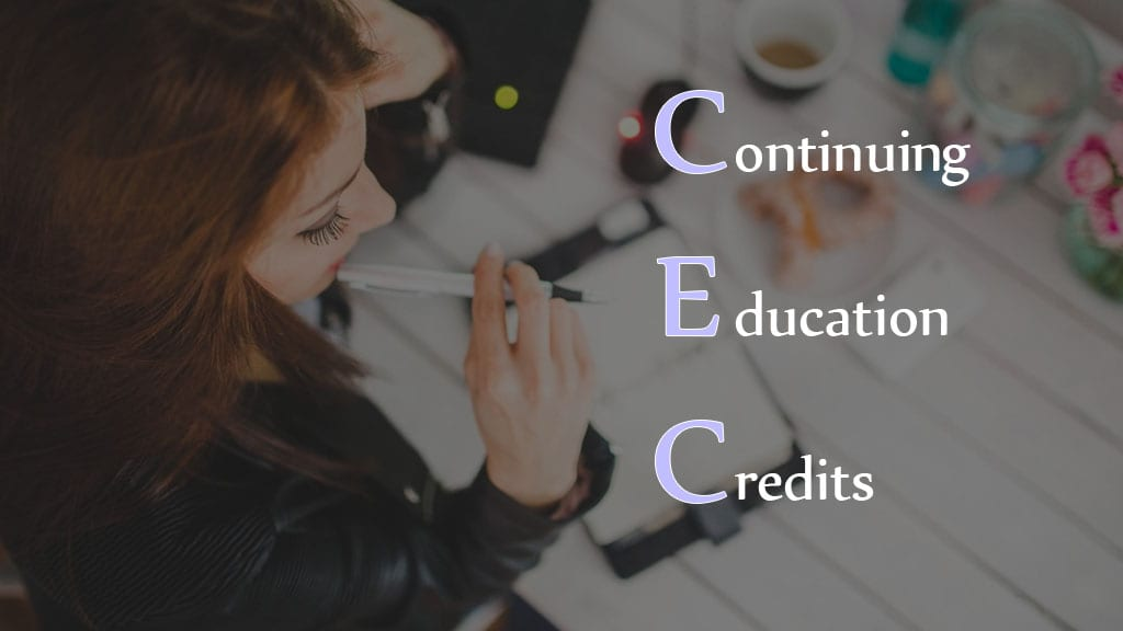 Continuing Education Credits Image