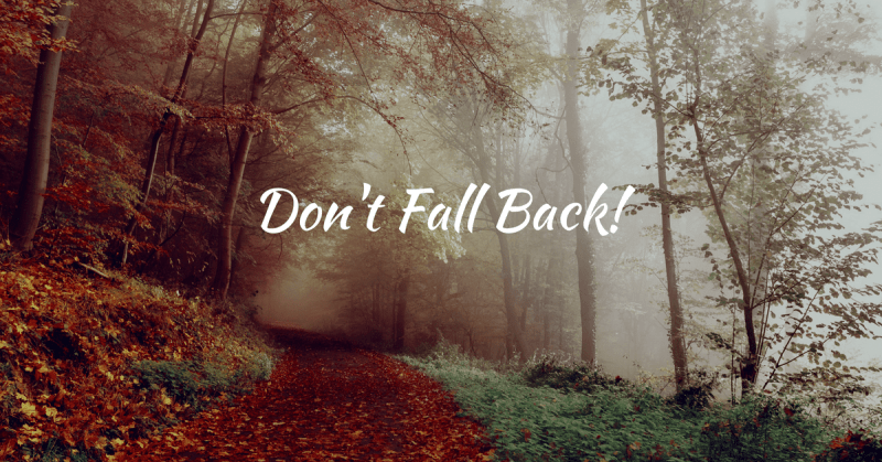 Don't Fall Back: 3 Benefits to Starting an Online Course This Season