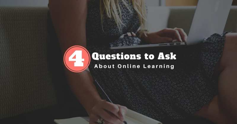 4 Questions to Ask About Online Learning
