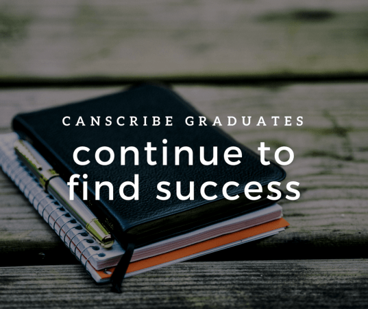 CanScribe Graduates Continue to Find Success