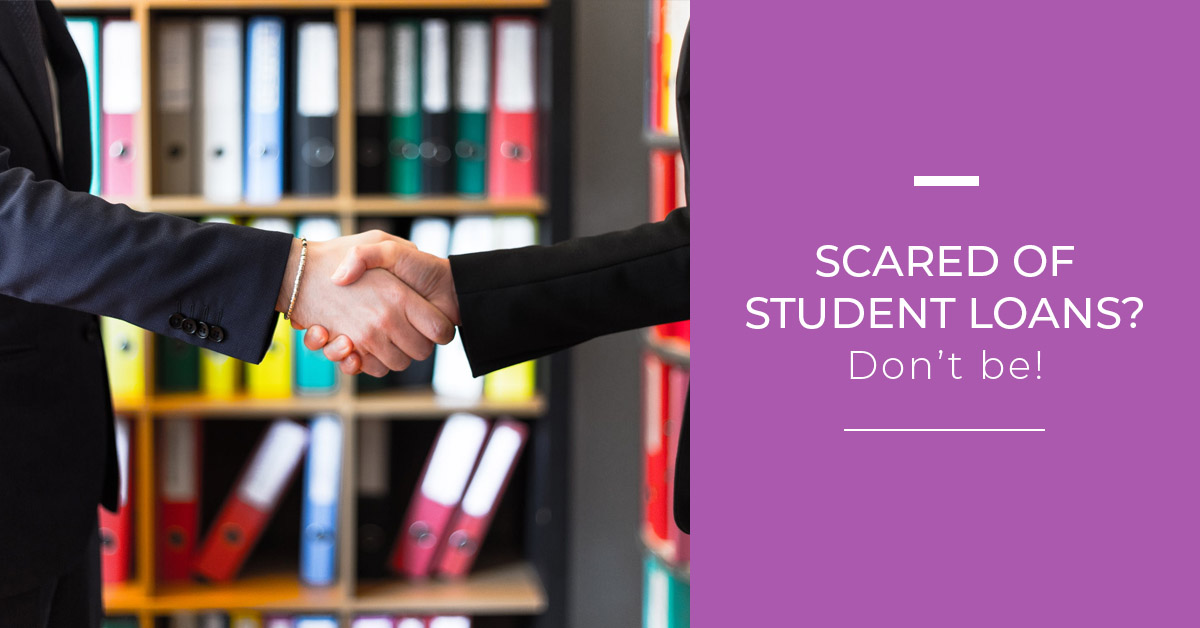 scared of student loans