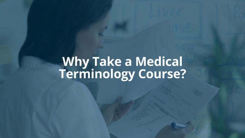 Why You Should Take a Medical Terminology Course