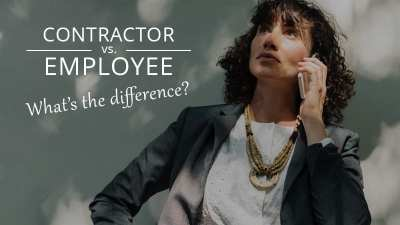 What is the difference between an Employee and a Contractor?