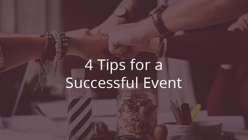 4 Things to Consider When Planning an Event at Work