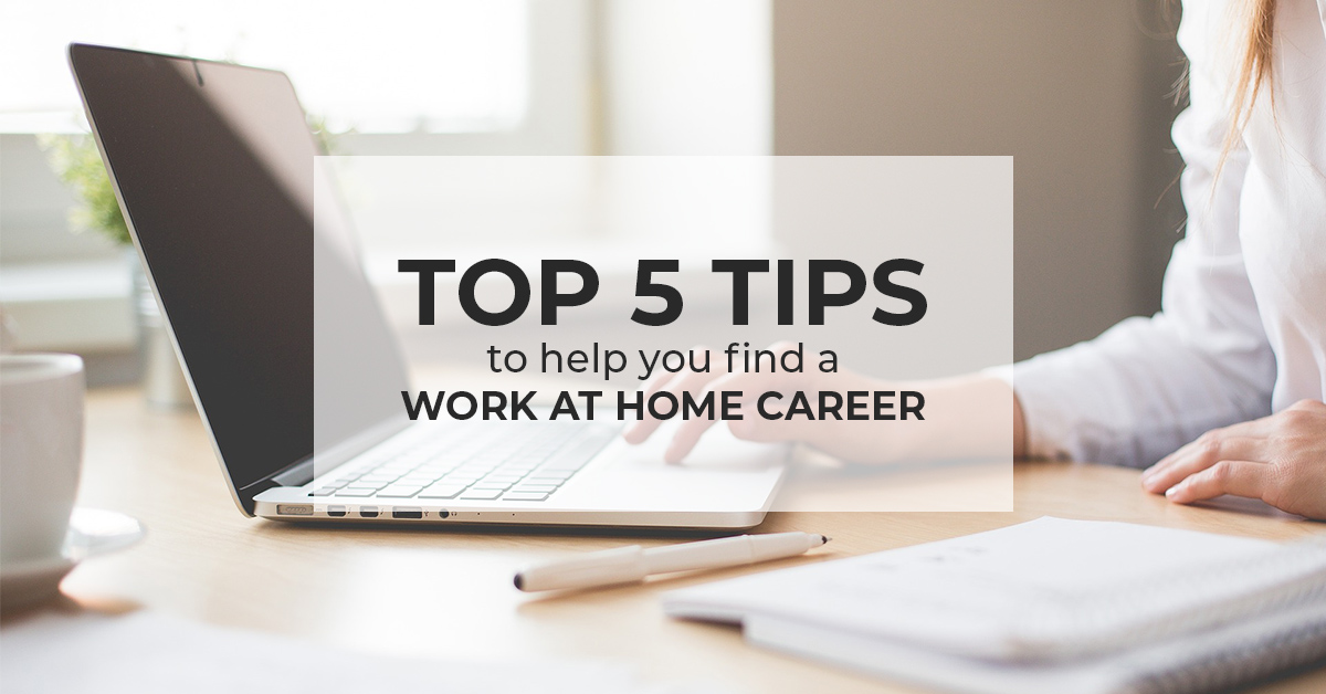 Work at home career